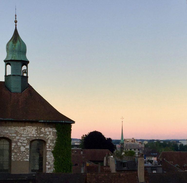 Vista dela ristorante Rother Turm