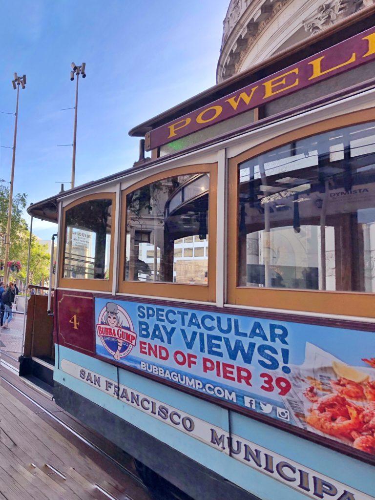 California e Parchi Nazionali - viaggio on the road Cable car San Francisco