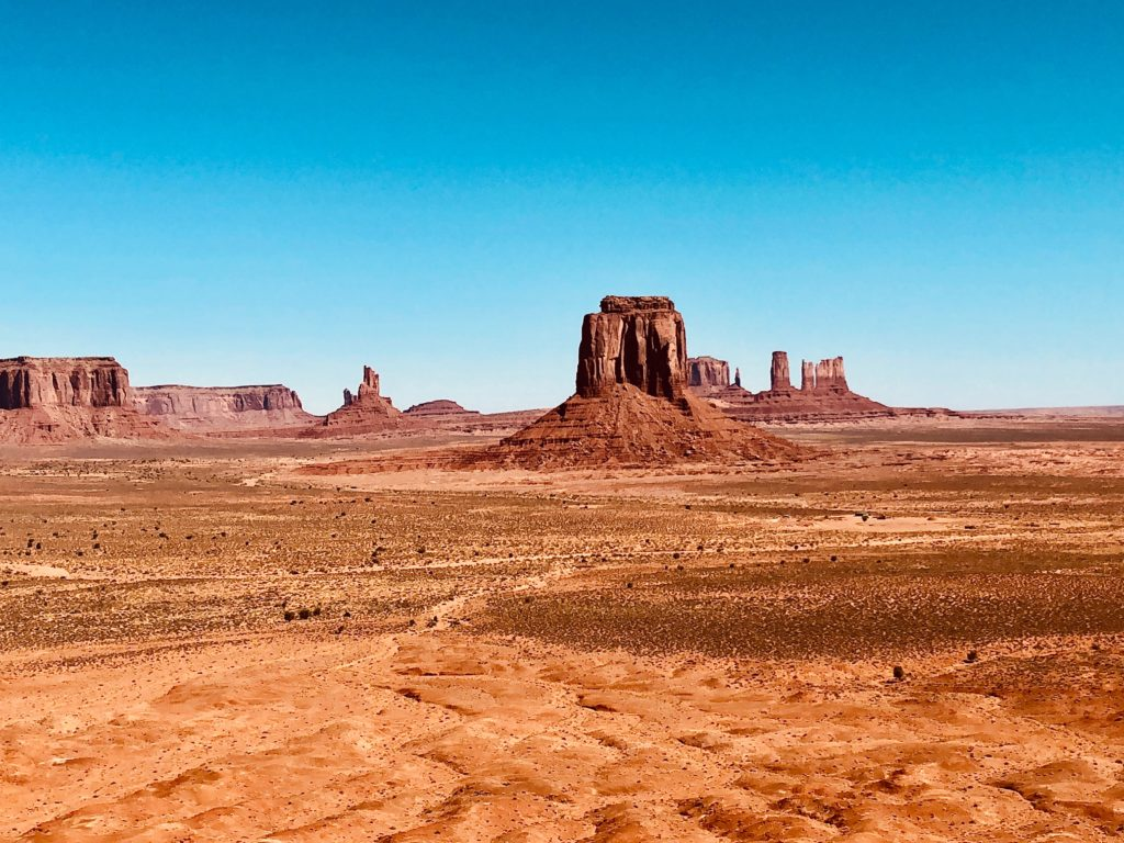 California e Parchi Nazionali - viaggio on the road Monument Valley