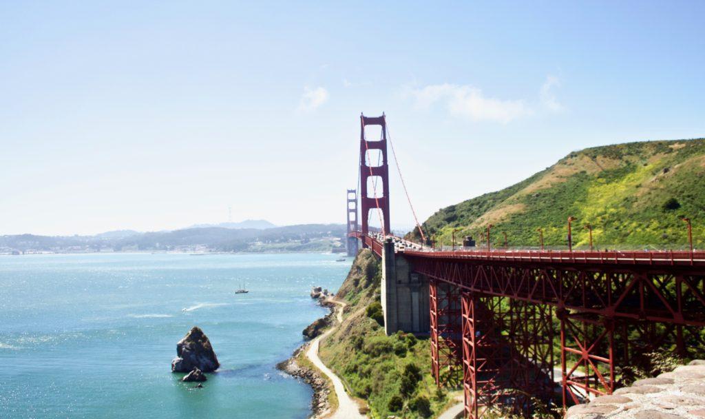 California e Parchi Nazionali - viaggio on the road Golden Gate bridge