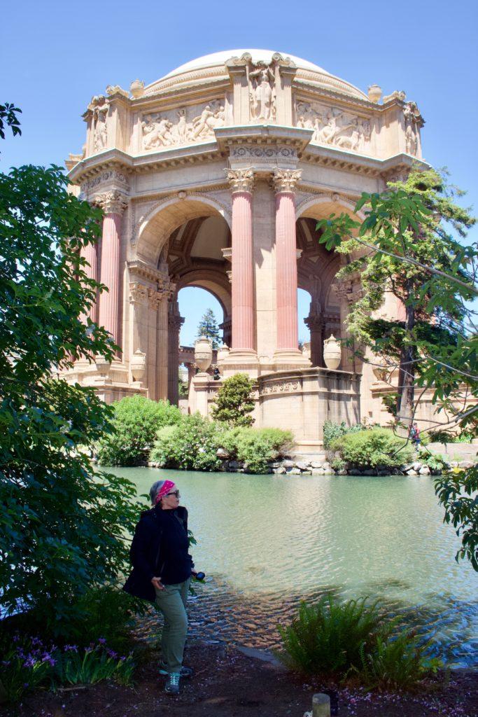 California Palace of Fine Arts San Francisco