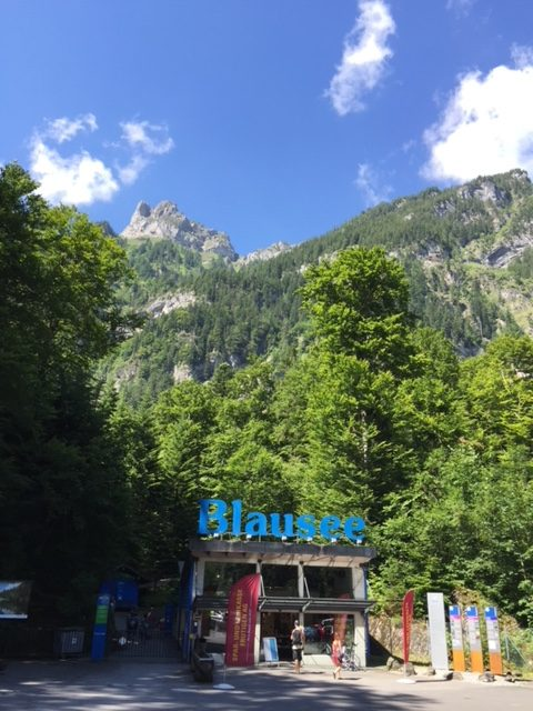 lago blu (Blausee)
