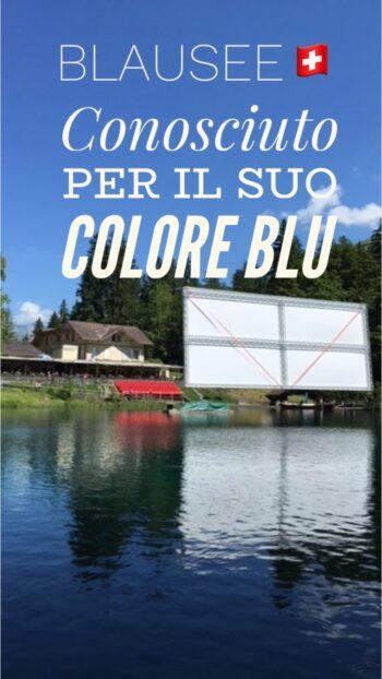 lago blu Blausee