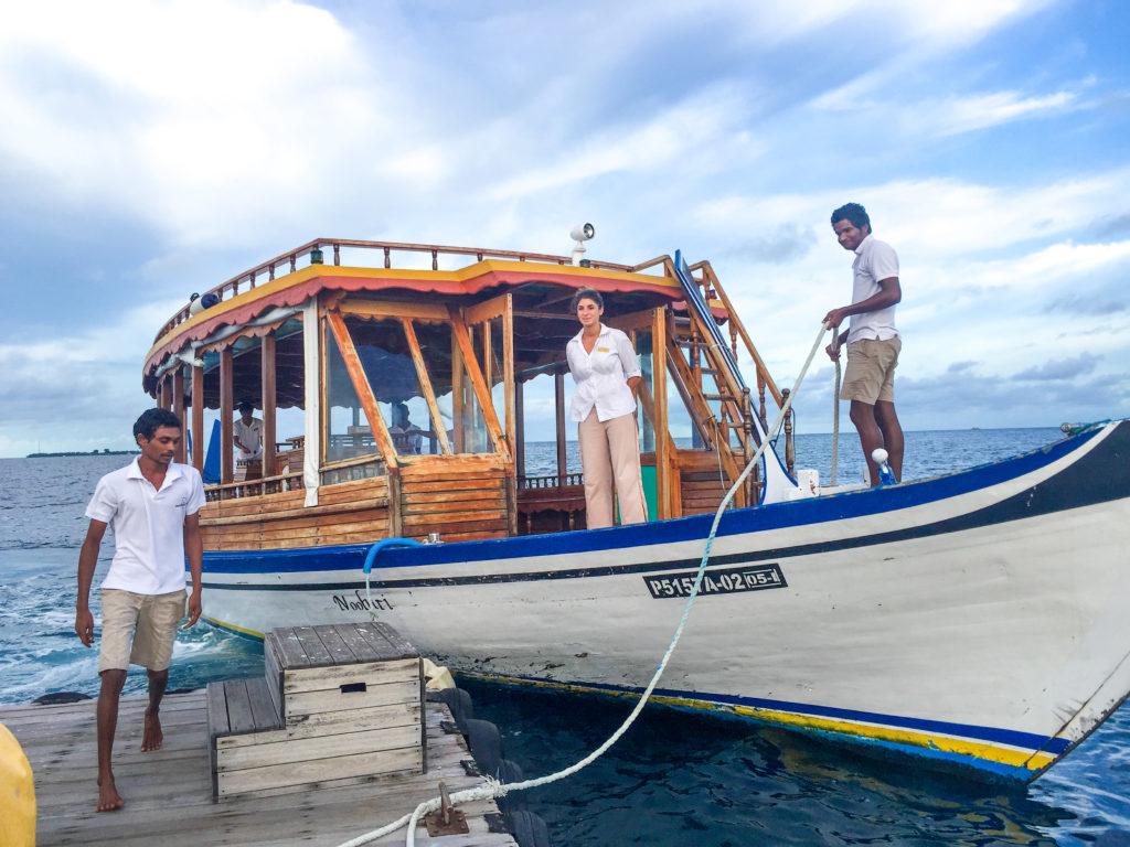 Maldive quale isola scegliere al Maafushivaru Accoglienza sull'isola