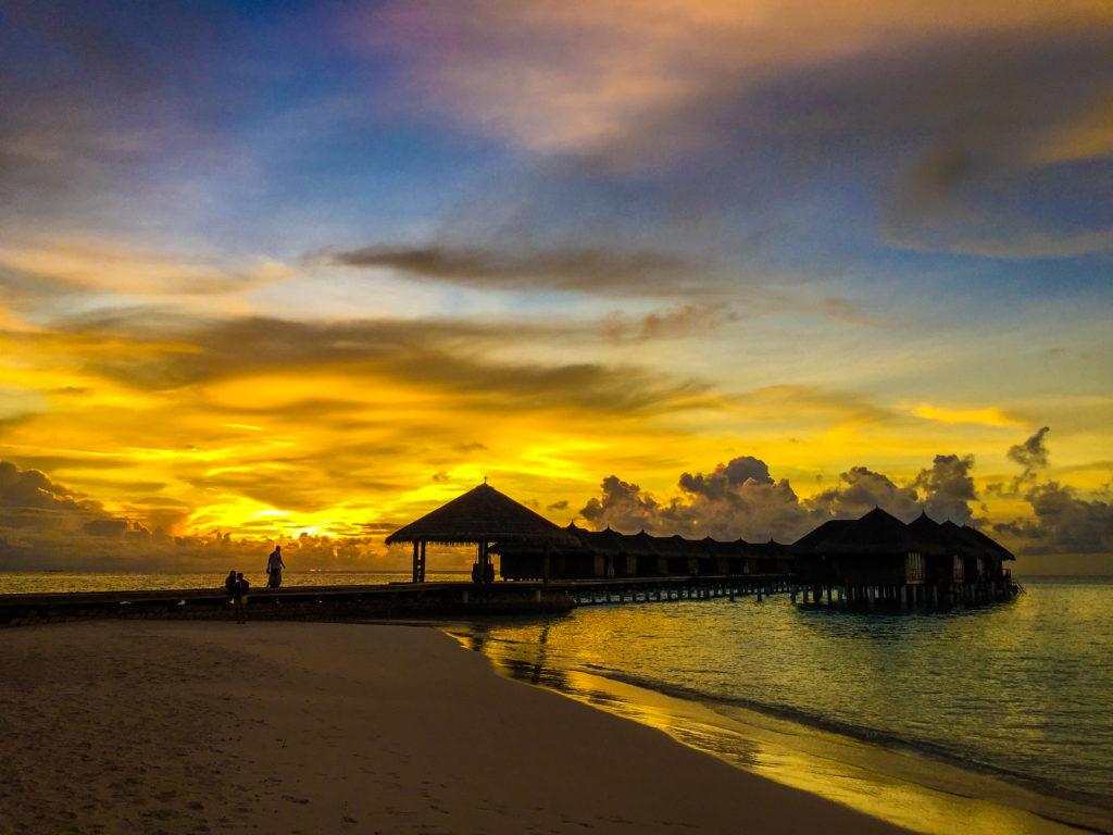 I tramonti spettacolari al Maafushivaru