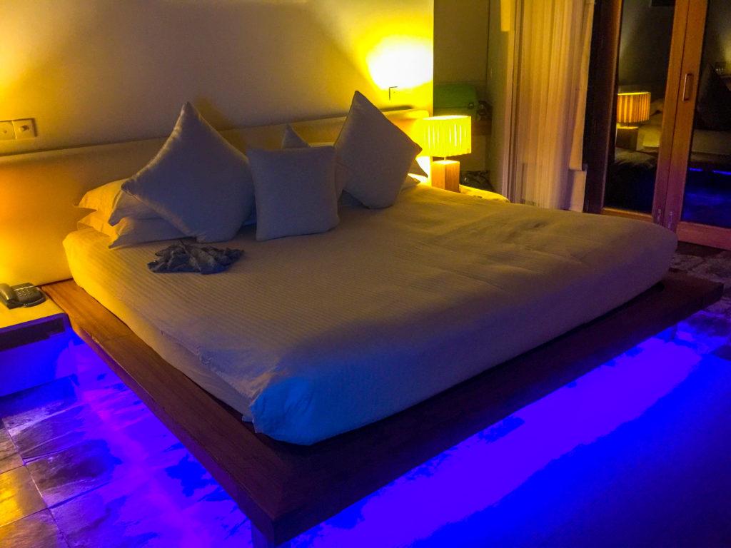 Maldive quale isola scegliere La nostra camera al Maafushivaru