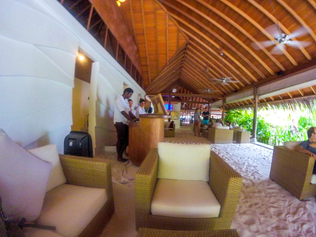 Maldive quale isola scegliere Reception Maafushivaru Maldive