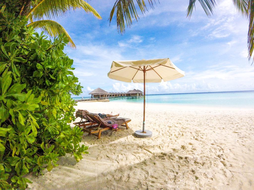 Spiaggia Maafushivaru Maldive