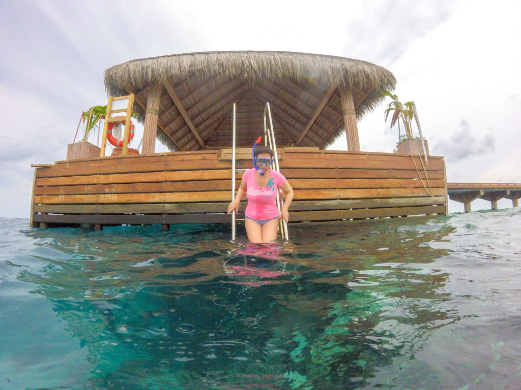snorkerling a Lonubo - Maldive