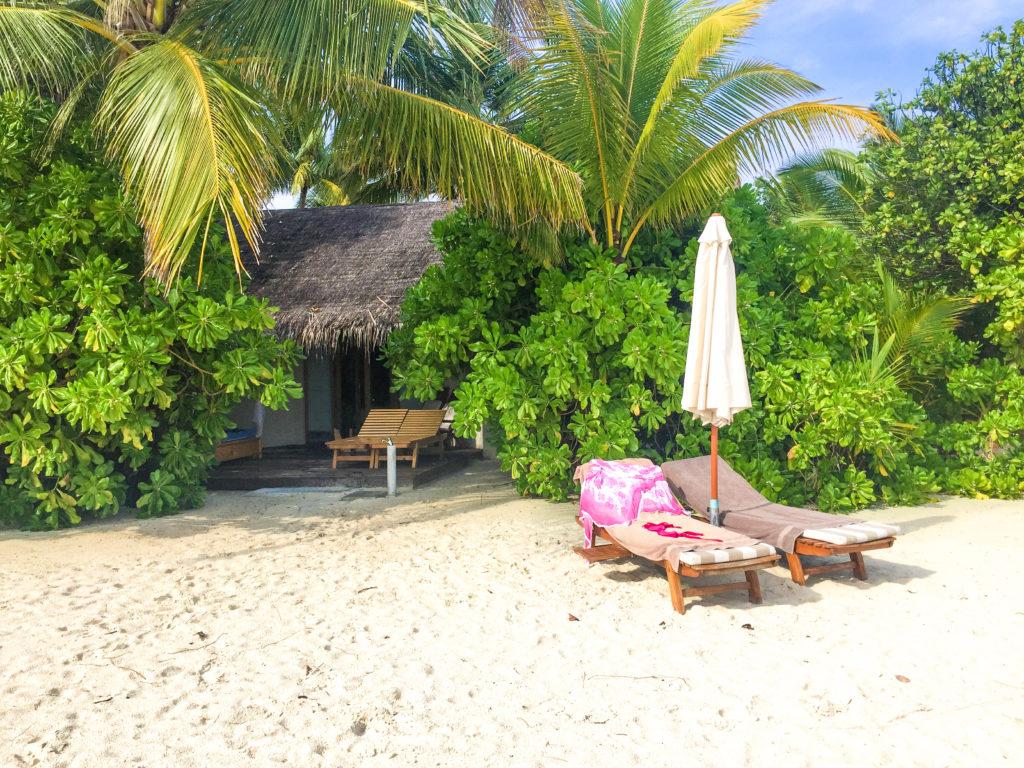 Maldive quale isola scegliere Il nostro bungalow Maafushivaru Maldive