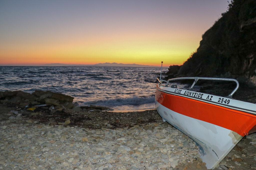 Bellissima alba dall'hotel Lesante Blu Exclusive Beach Resort - Zante
