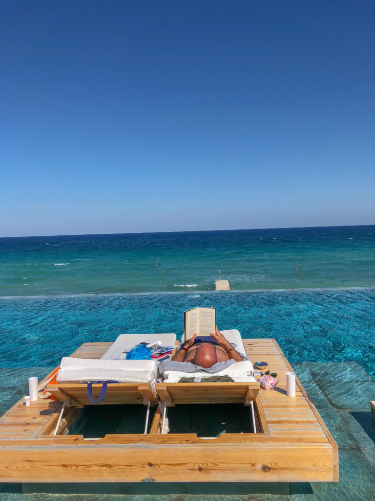 Infinity Pool dell'hotel Lesante Blu Exclusive Beach Resort - Zante