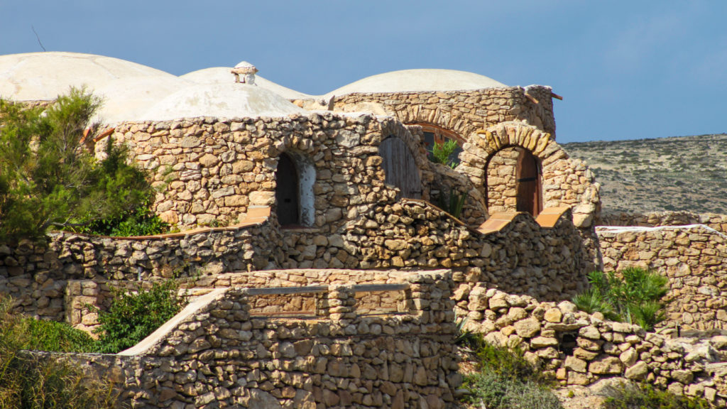 Tipico dammuso a Lampedusa