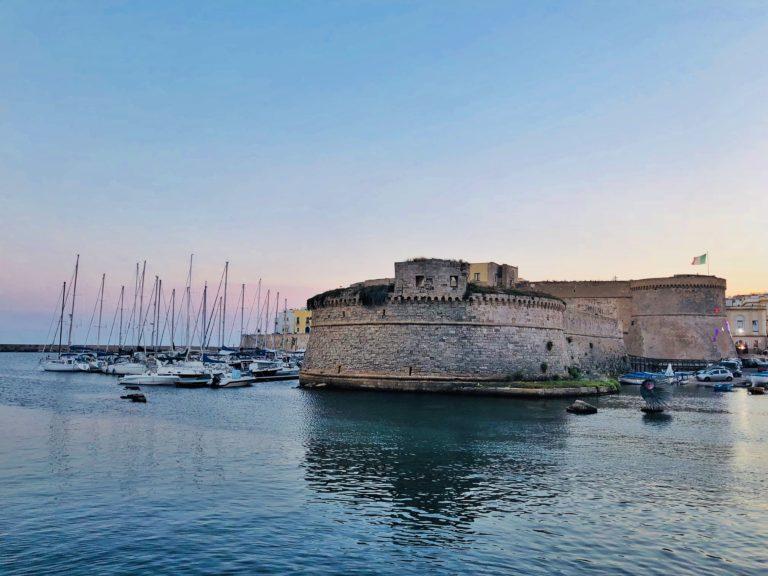 Il castello Angioino-Aragonese di Gallipoli