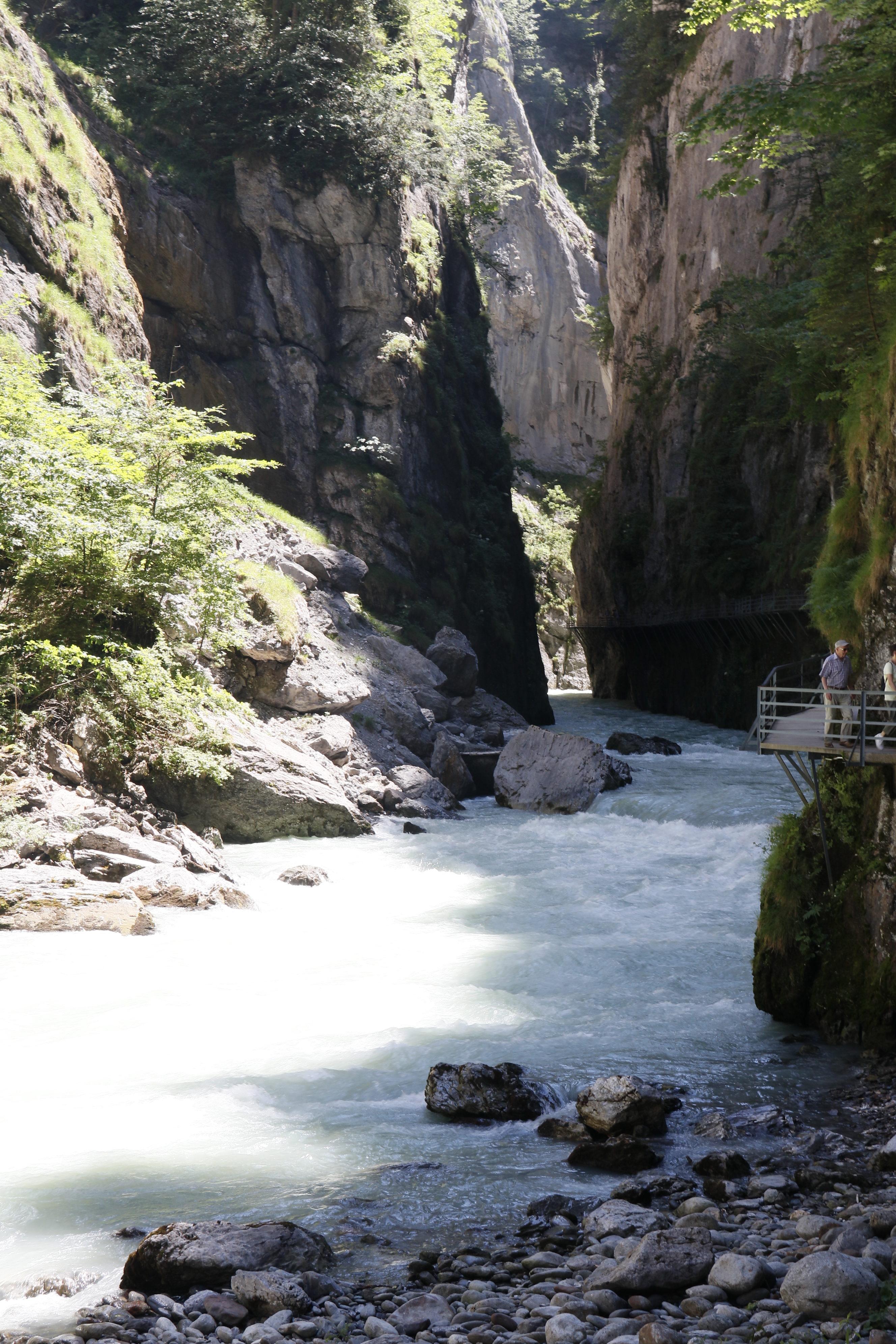 Esplorare la gola del'Aare e le cascate di Reichenbach