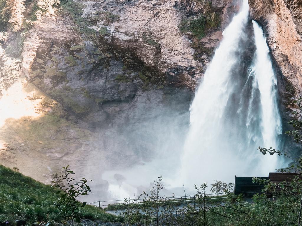 le cascate di Reichenbach nell'Oberland Bernese