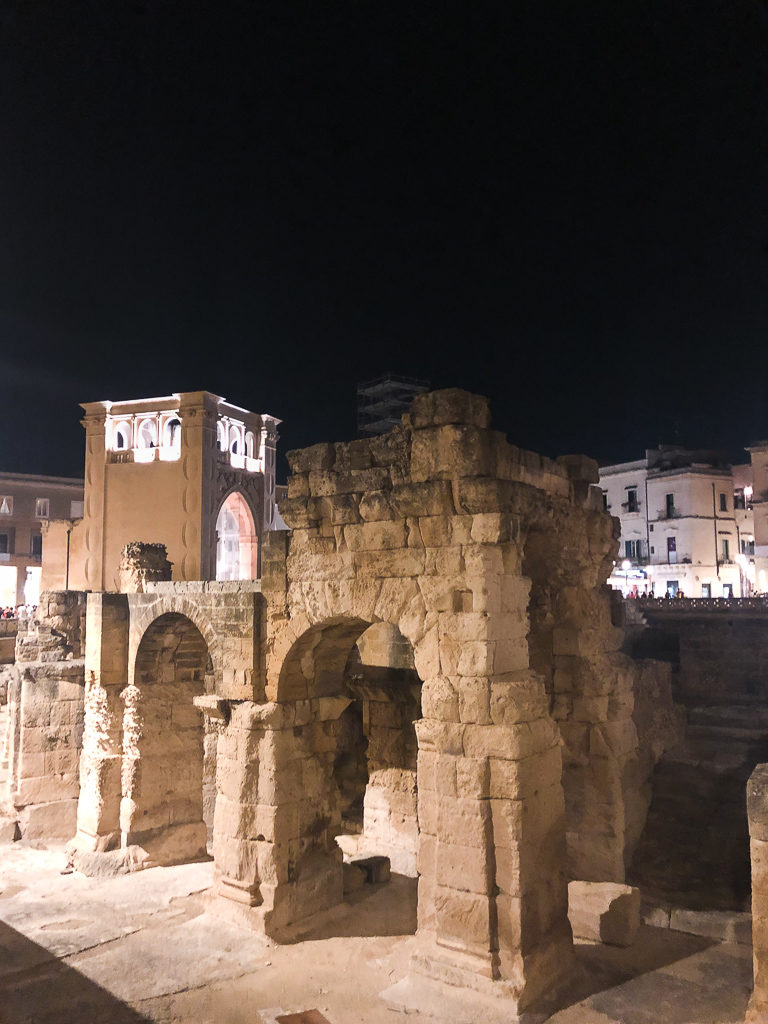 Anfiteatro Romando a Lecce