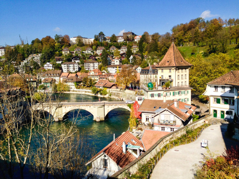 Città di Berna in Svizzera