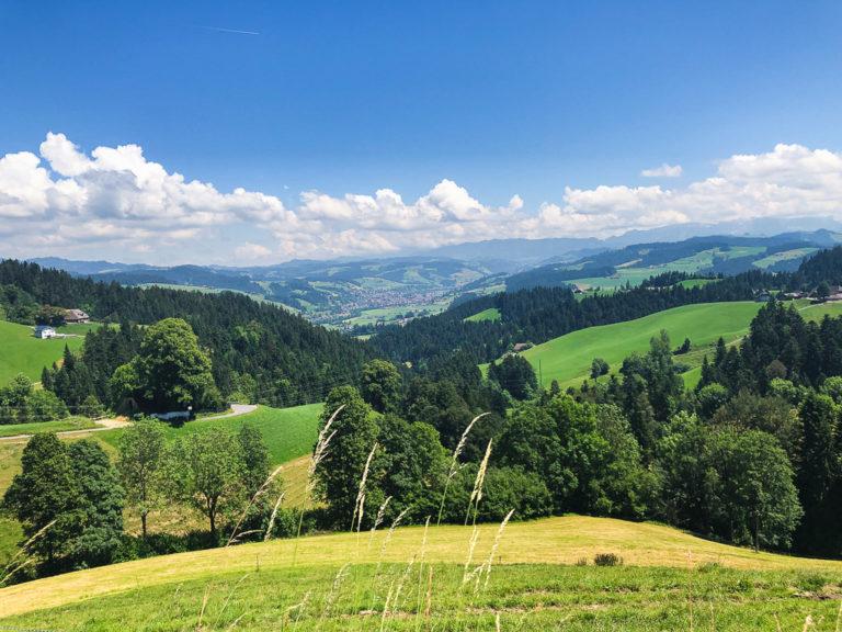 Le colline verdi dell'Emmental