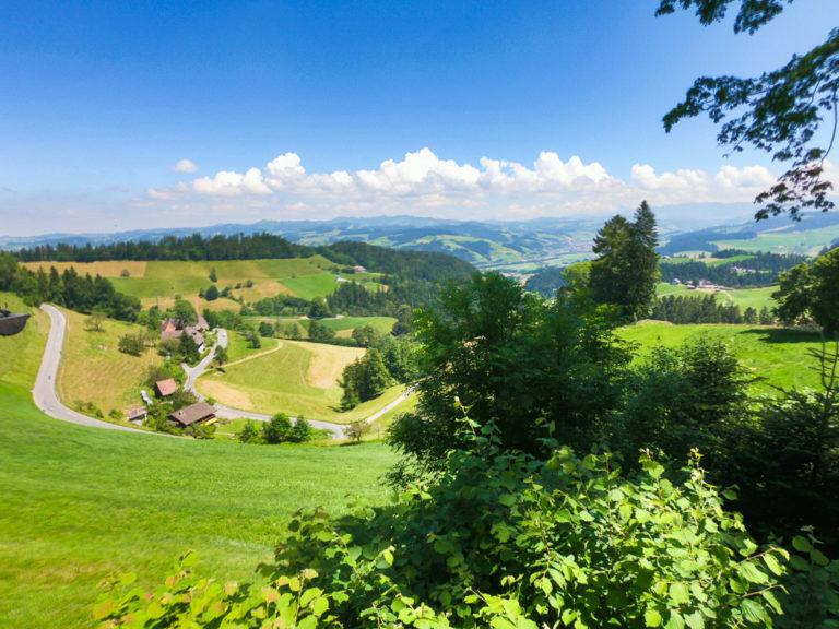 La verde valle dell'Emmen (Emmental)