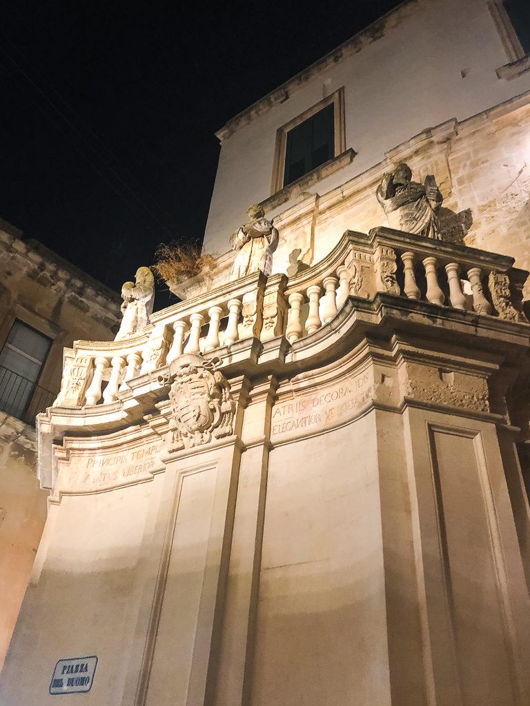 Statue di barocco leccese