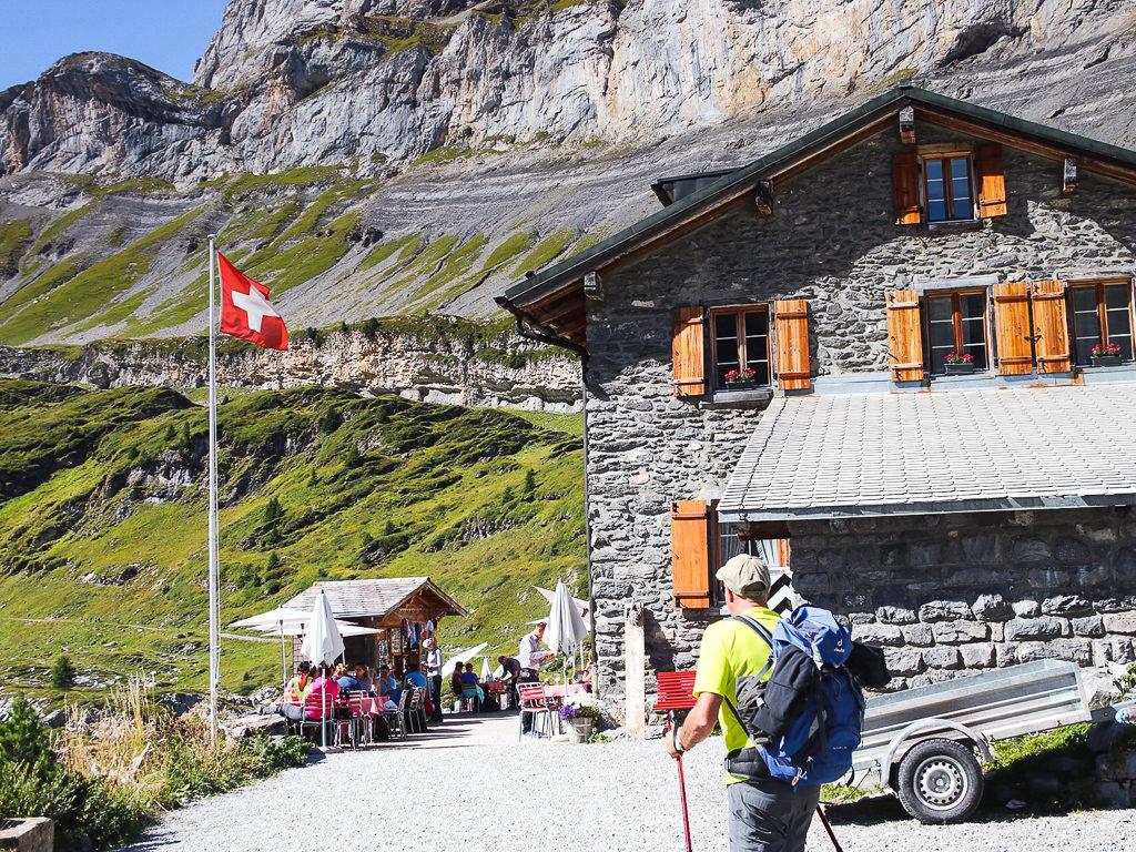 Escursioni sul passo del Gemmi, Berghotel Schwarzbach Switzerland