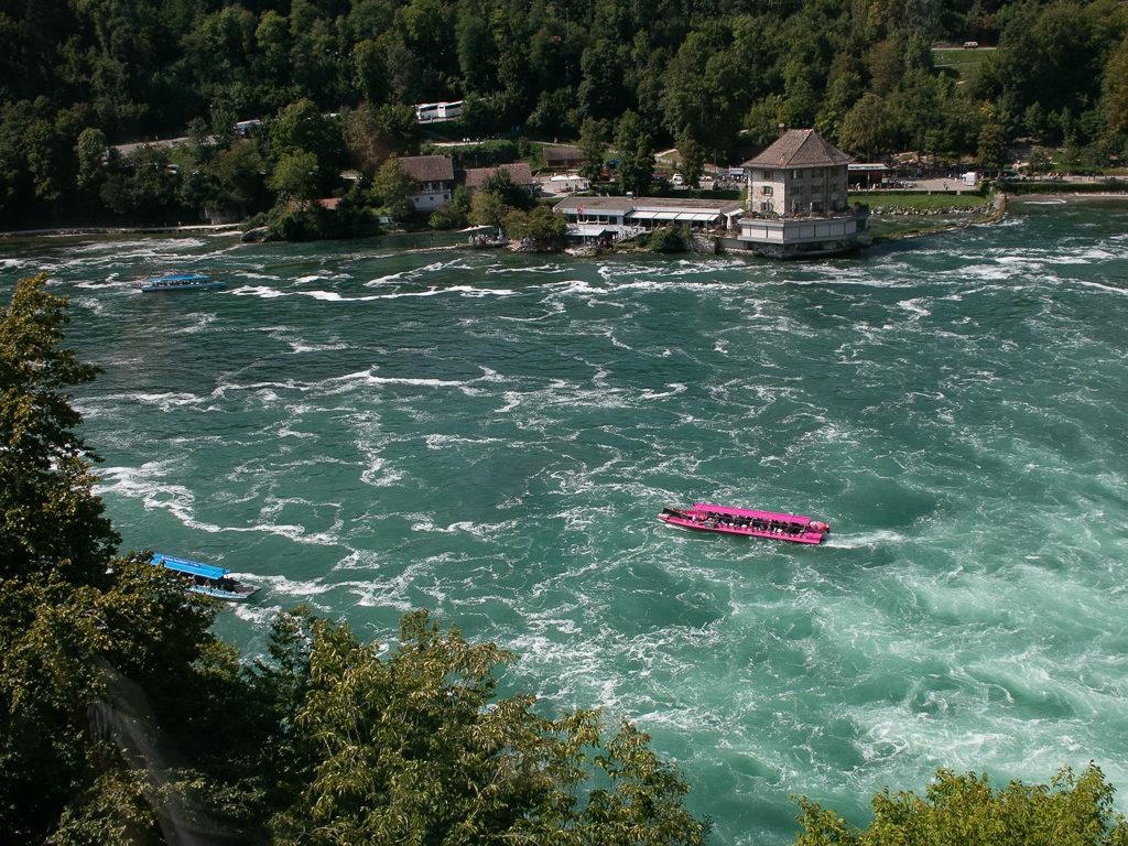 vista-ascensore-panoramico-cascate-reno-sciaffusa-svizzera