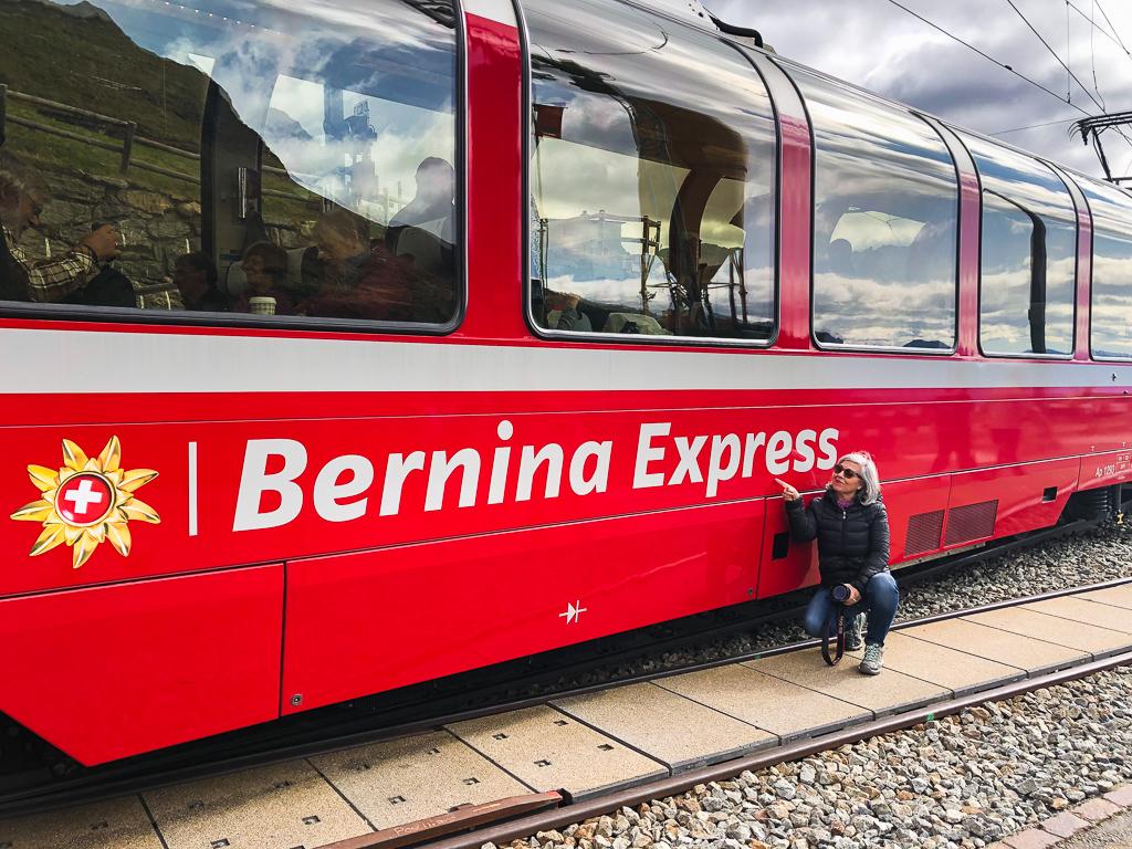 Treno rosso del Bernina