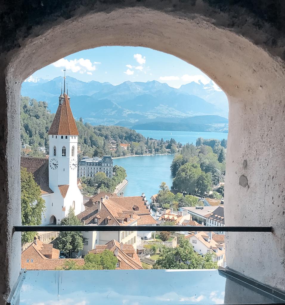 Vista dal castello di Thun