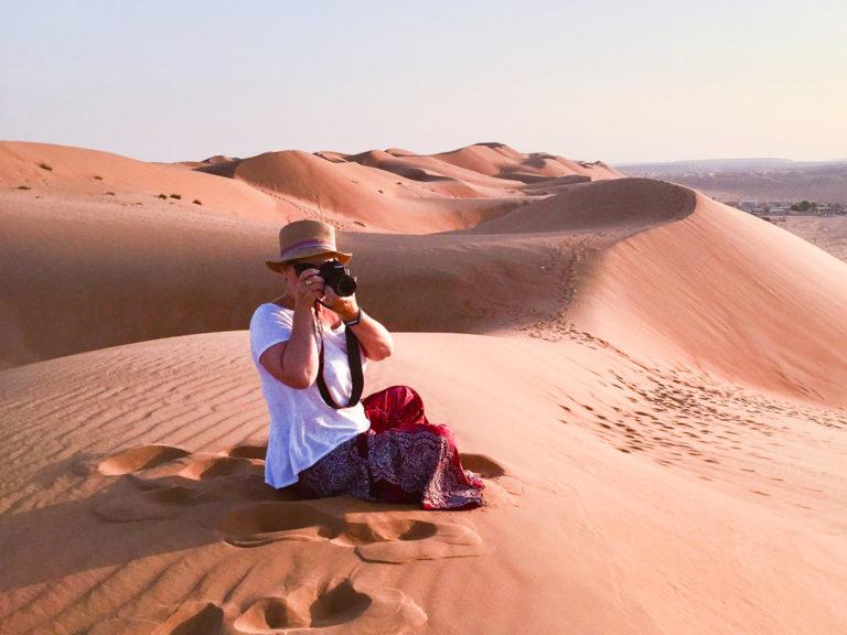 Il deserto del Wahiba Sands, Oman