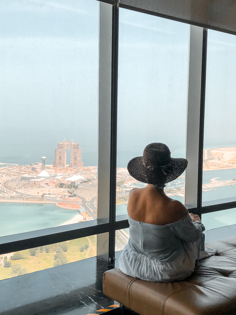 Vista dall'Etihad Towers Abu Dhabi