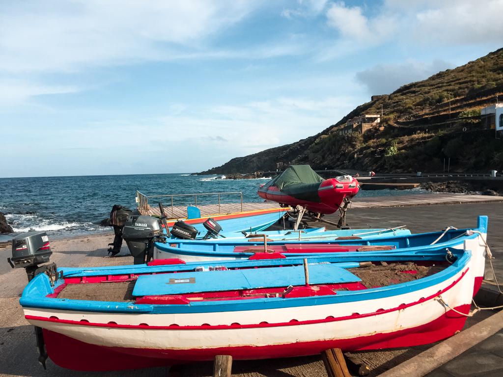 Il porticciolo di Cala Gadir - Pantelleria