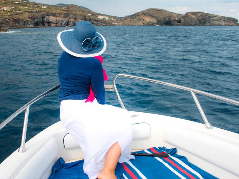 Giro in barca a Pantelleria