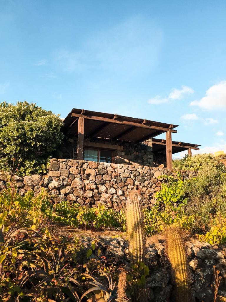 Il nostro dammuso nel Dream Resort di Pantelleria immerso nel verde