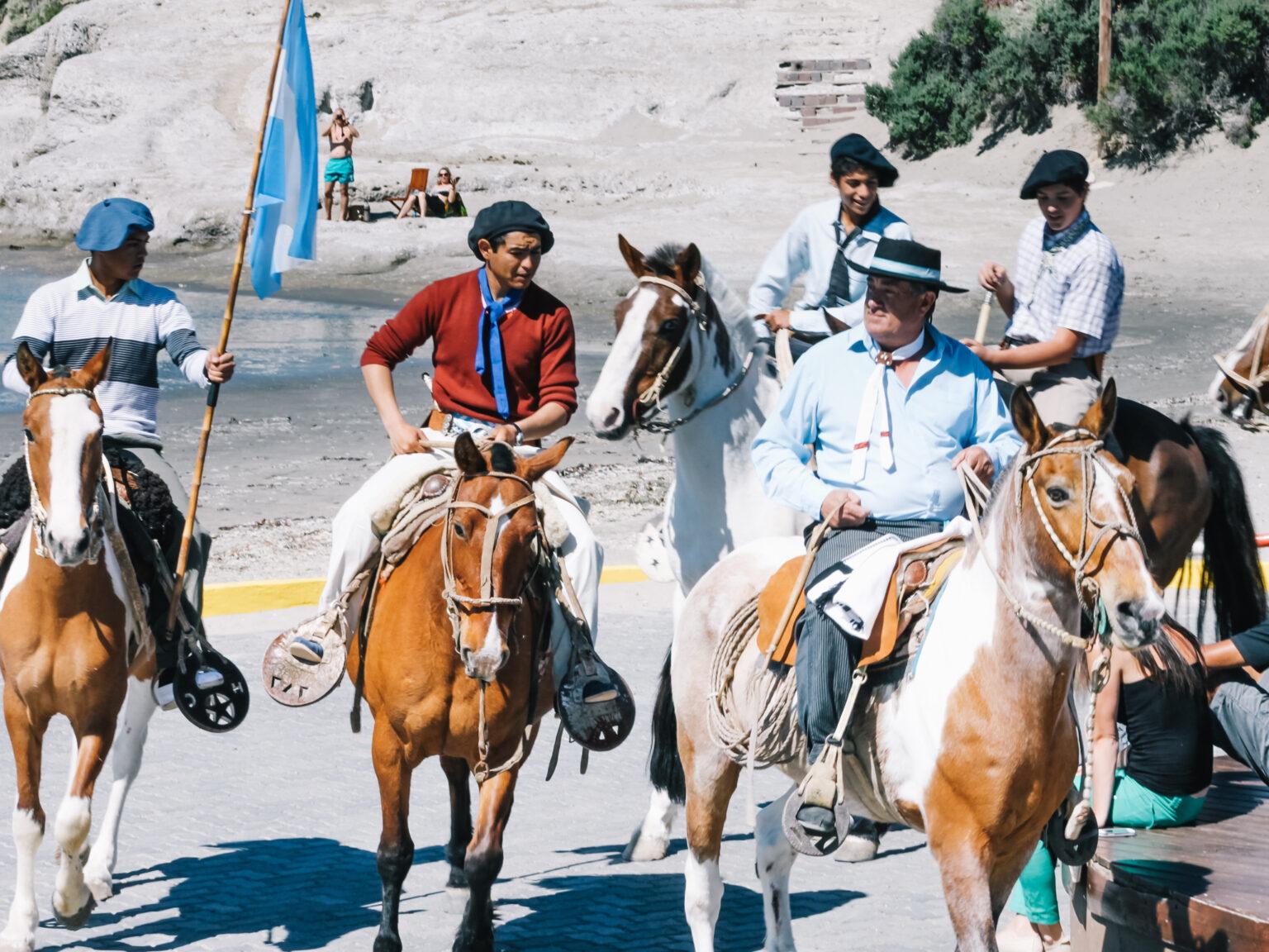 Puerto-Madryn-Gauchos