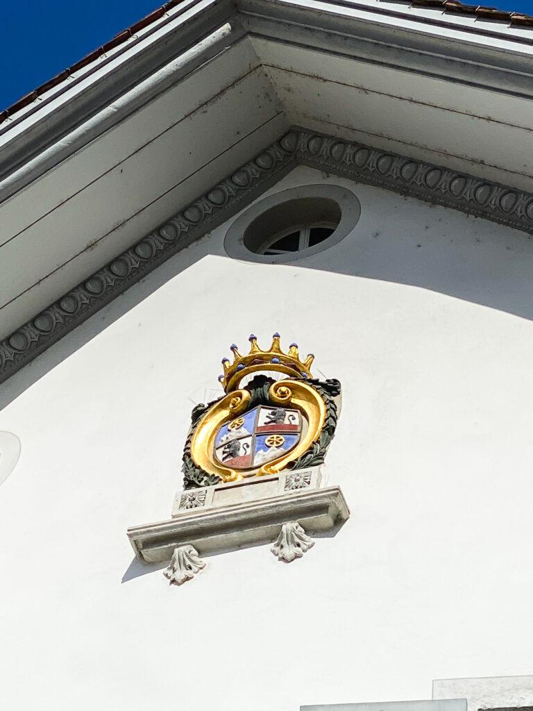 Lo stemma della famiglia Von Roll