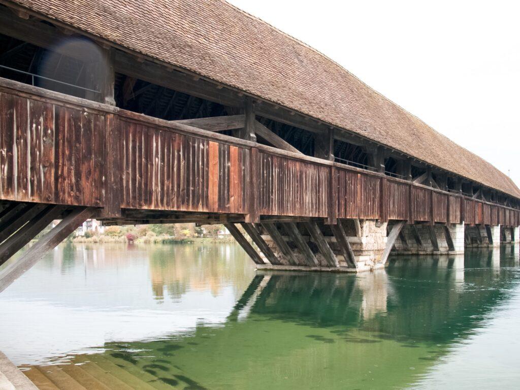 Storico ponte Wangen an der Aare