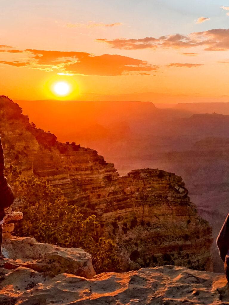 Tramonto Grand Canyon
