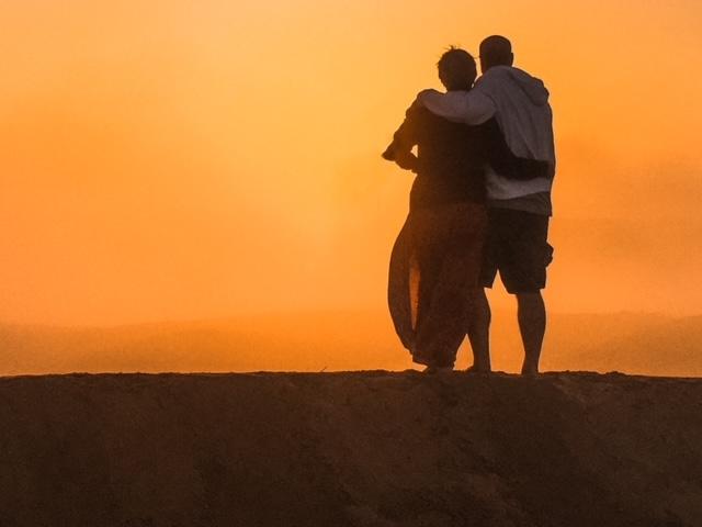 Alba deserto Oman