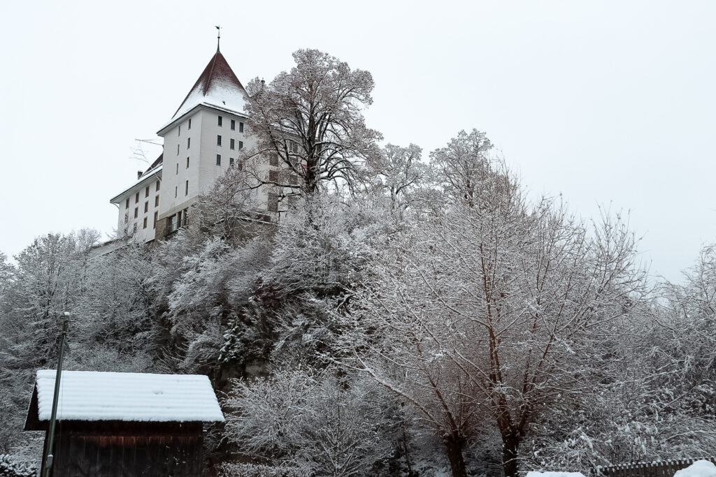 Castello di Sumiswald arroccato