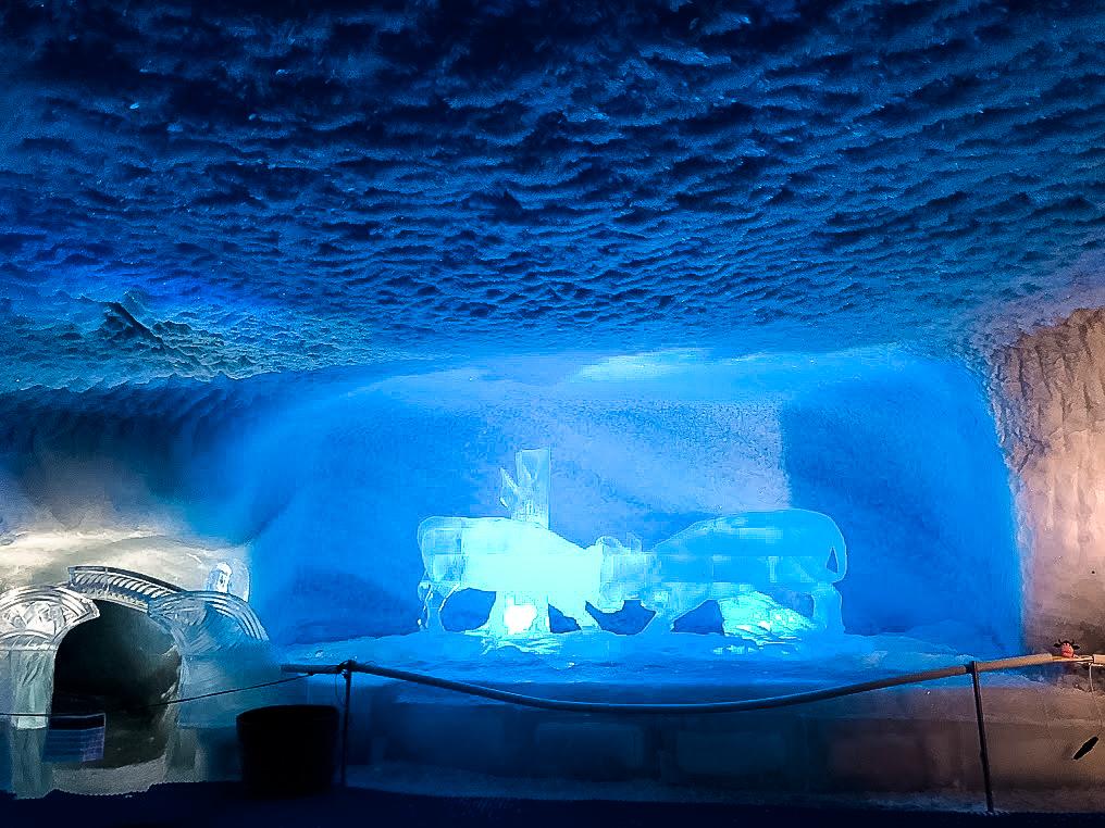 palazzo di ghiaccio