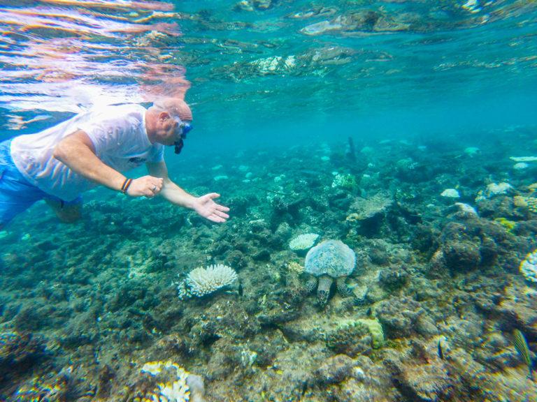 Snorkeling Maafushivaru Maldive