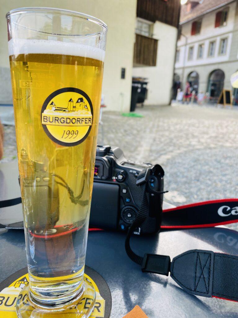 "La birra locale ""Burgdorfer Bier"""