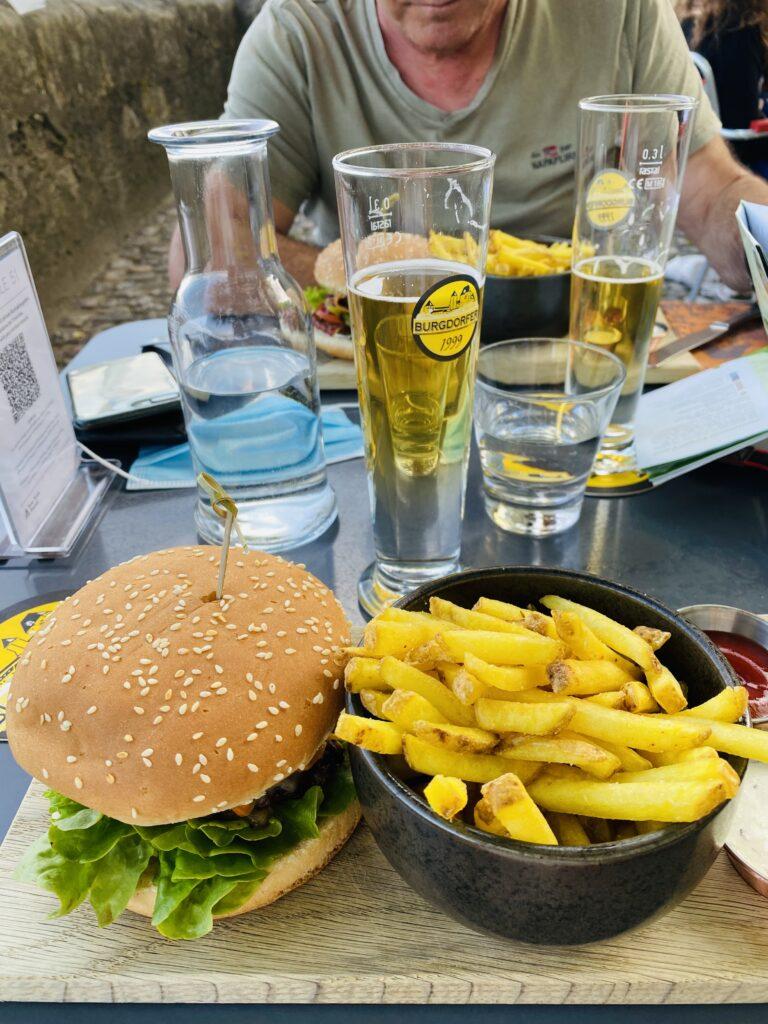 L'Hamburger del castello