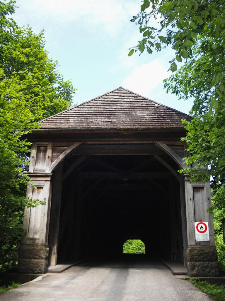 Vecchio ponte di legno Hasle Rüegsau