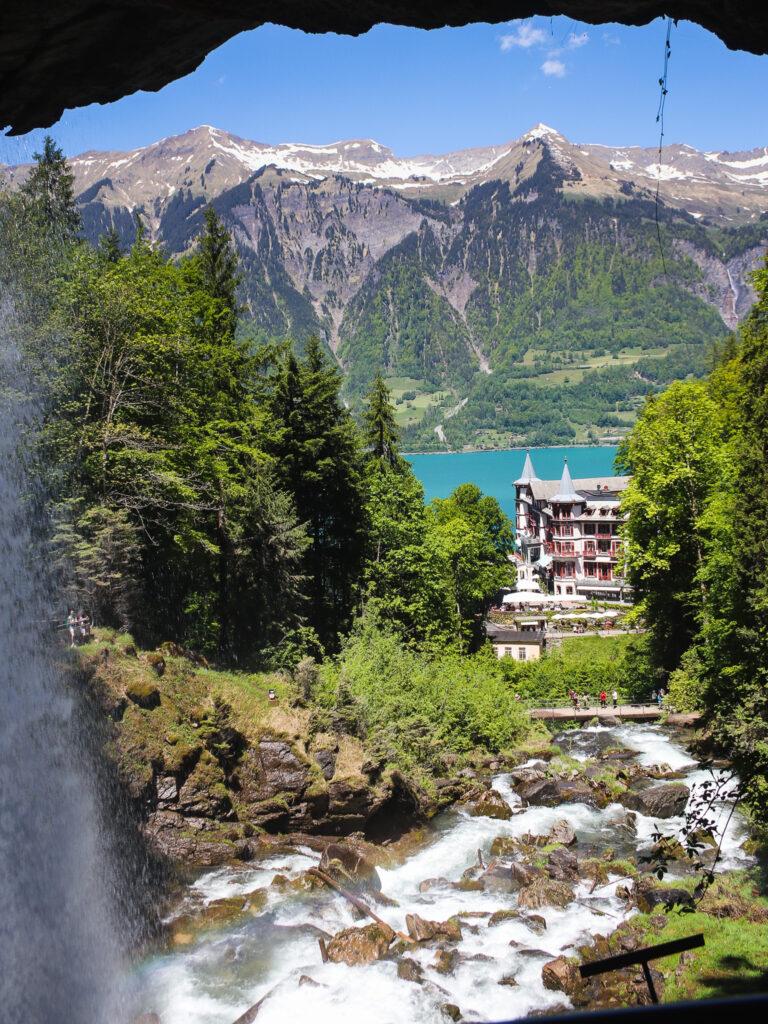 Vista sul lago di Brienz